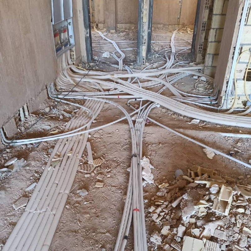 اجرای تاسیسات برقی ساختمان دارای مجوز رسمی از سازمان نظام مهندسی واتحادیه الکتریکی نصب سیستم های اعلام حریق و….